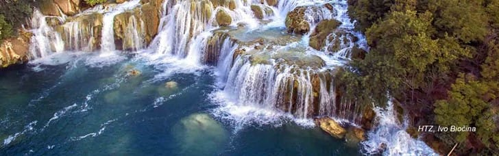 Visit the amazing Krka National Park and Šibenik city